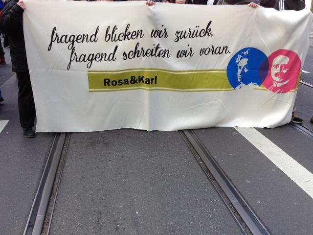 Rosa und Karl Demo